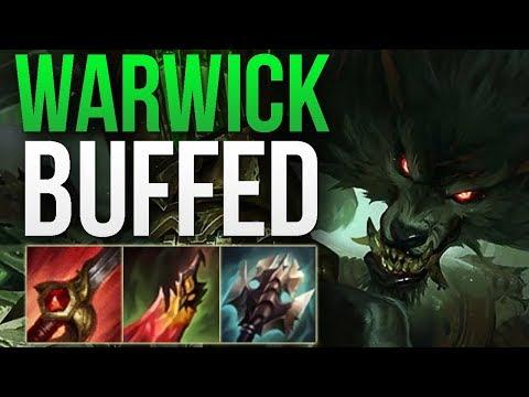 WARWICK 8.24b IS AMAZING! | WARWICK MAIN JUNGLE GAMEPLAY | Patch 8.24 S8