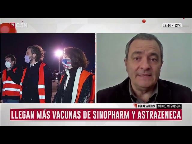 Dr. Oscar Atienza en C5N - Combinación Vacunas   18/07