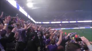 Andonline PO1 Charleroi - Anderlecht Olélé Olala qui ne saute pas...