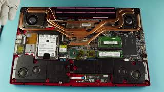 MSI GE73 Raider RGB 8RF | How to Service, Upgrade & Fix Laptop (Teardown)
