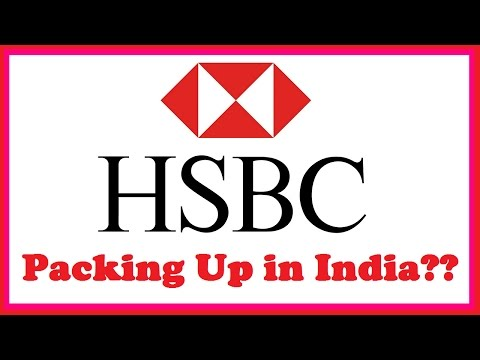 HSBC India Packing Up?!