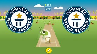 How To Make 999 Score Easily।। Google Doodle Cricket।।