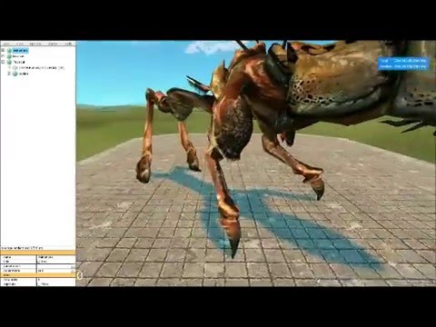 PAC3 Tutorials (with Butterfly) - Quadroped PACs