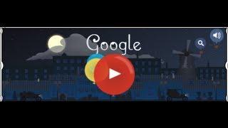 Claude Debussy Doodle Google 22/08/2013