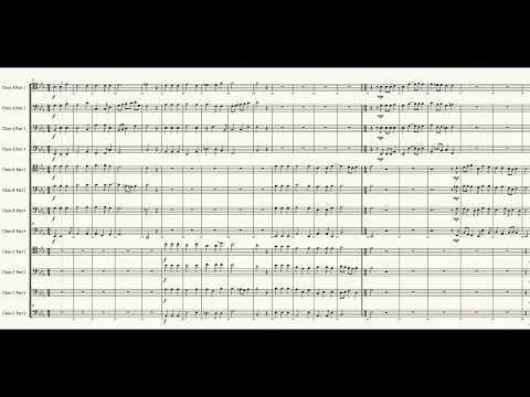 Benedicam Dominum - Hans Leo Hassler For 12 Trombones
