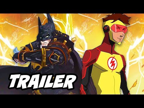 Batman Ninja Anime Trailer and Young Justice Season 3