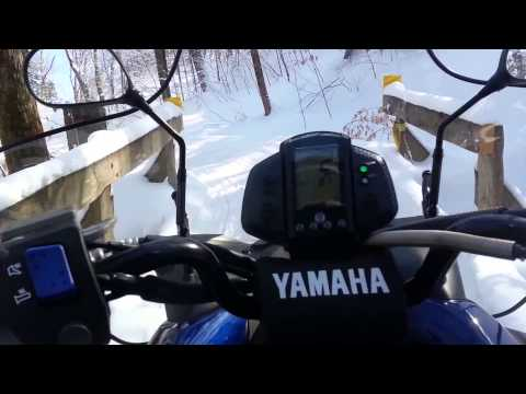 Erie County Snowmobiling - Jan 31, 2015