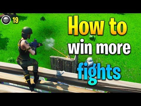 3 tips to WIN MORE FIGHTS in Fortnite! How to get better at Fortnite! Fortnite tips!
