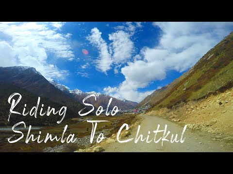 shimla-to-chitkul-|-riding-solo-|-part-1-|-ft-steve-angello-flashing-lights-(feat.-highly-sedated)