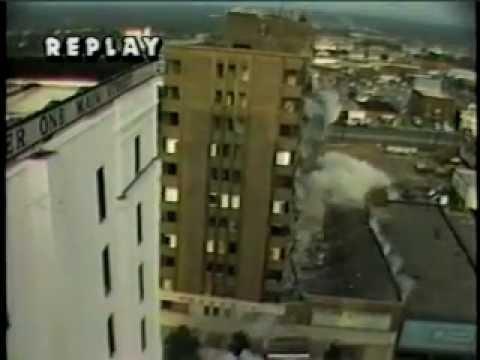 The Wade Hampton Hotel Implosion ~ Columbia South Carolina
