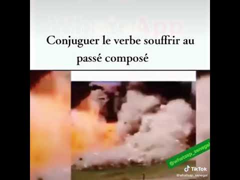 Verbe Souffrir Au Present Youtube