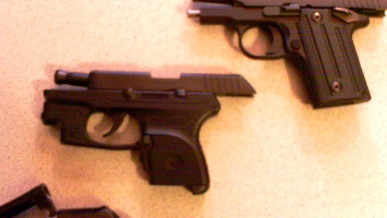 Pocket Pistols Weights Sig Sauer P238 Vs Ruger Lc9 Vs