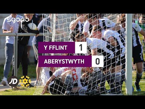 Flint Aberystwyth Goals And Highlights