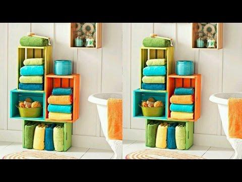 80 Ideas Para Reciclar Cajas De Frutas Originales Creativas Y - Cajas-de-fruta-recicladas