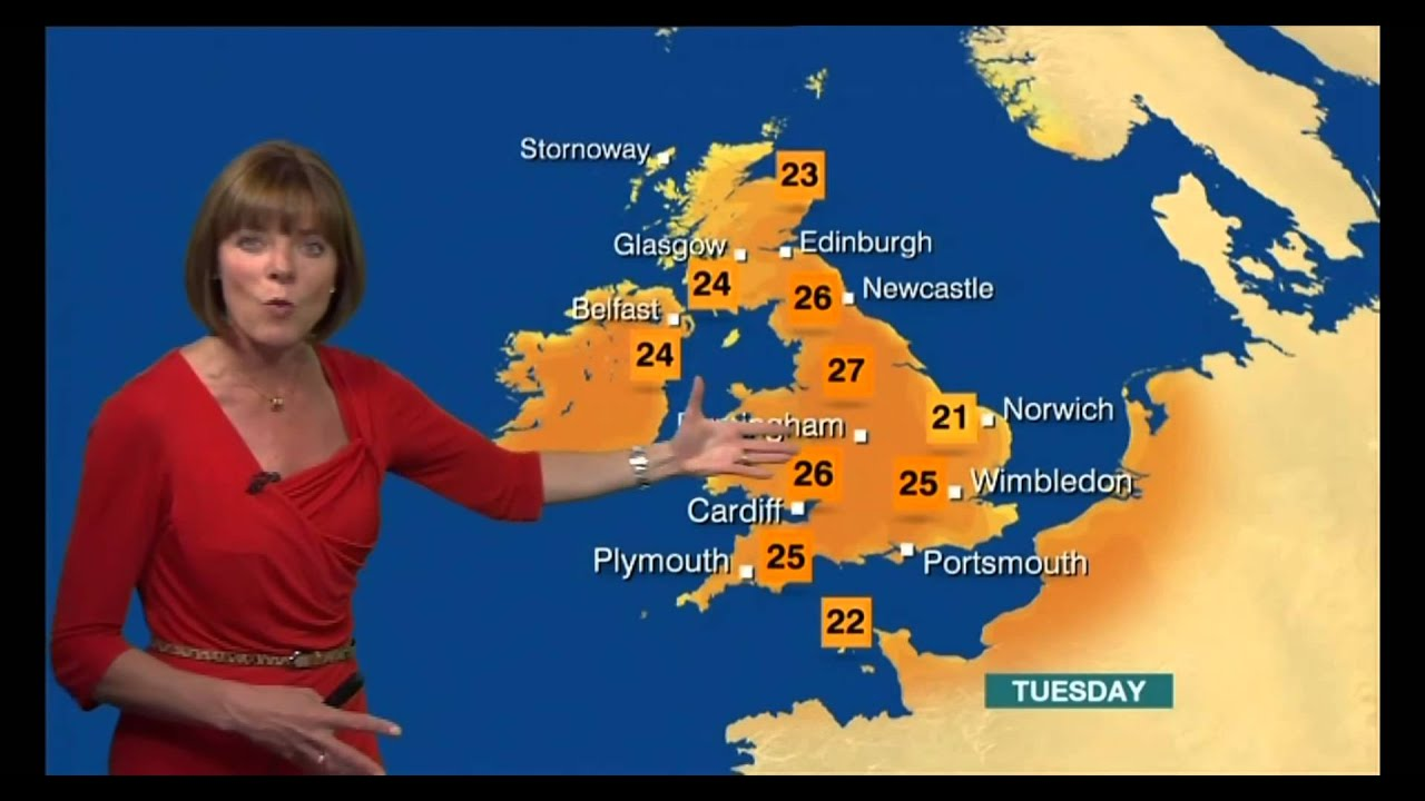 Bbc weather - Louise Lear Bbc Weather 08 July 2013 Finally Settled Summer Weather