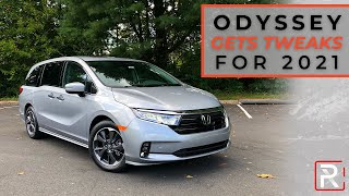 The 2021 Honda Odyssey Elite is the Minivan For Today's Modern Families