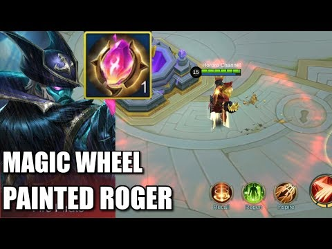 ROGER'S PAINTED SKIN PLUS WASTING DIAMONDS IN MAGIC WHEEL