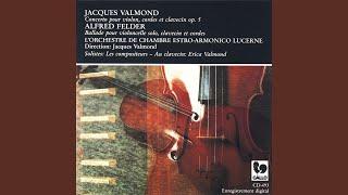 Concerto pour violon, cordes et clavecin Op. 5: Moderato, Larghetto, Allegro giocoso