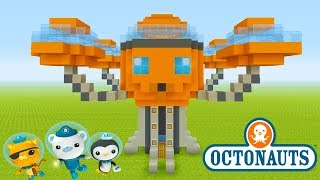 "Minecraft Tutorial: How To Make The Octopod from The Octonauts ""The Octonauts"""