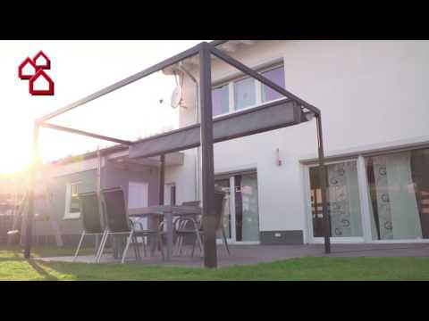Elektrischer Led Raffpavillion Bauhaus Youtube