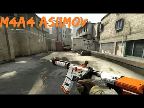 HD M4A4 | Asiimov {stickers, Sport Gloves, Driver Gloves, Ct Arms, Leet Arms} For Cs 1.6