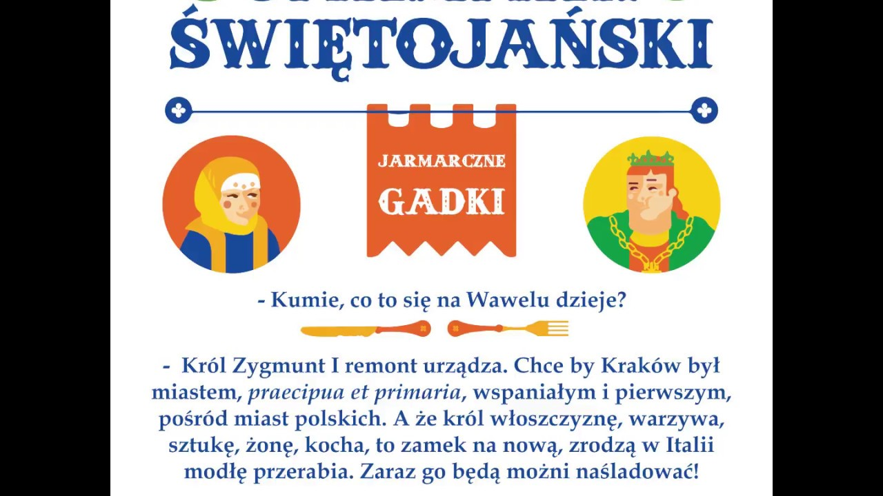 Jarmark świętojański Jarmarczne Gadki 2017 Odc 3
