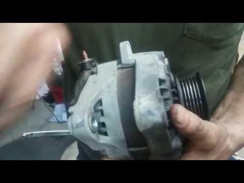 Toyota V6 1MZFE 3MZFE Alternator  Belt Replacement - YouTube