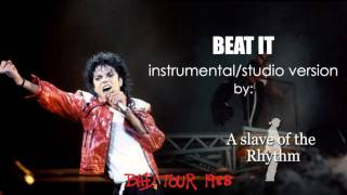 Michael Jackson | Beat it - BAD World Tour - instrumental/studio version