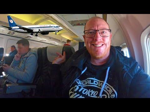 BELARUS NATIONAL AIRLINE: Belavia Trip Report (Boeing 737-300)