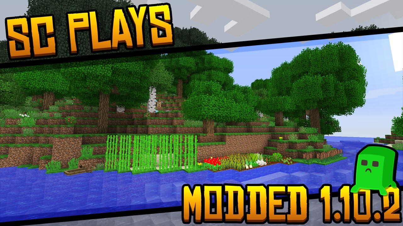 Server Application: Lightly Modded Minecraft 1.10.2! - YouTube