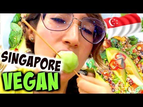 SINGAPORE: COST of VEGAN foods 😱...