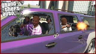 [GTA] - Reálný Život Gangstera #18 POMÁHÁME NEPŘÁTELSKÉMU GANGU! (GTA 5 Real Life Thug Mod - Česky)