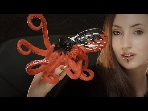ASMR Deep Sea Encounter: Angler and Octopus