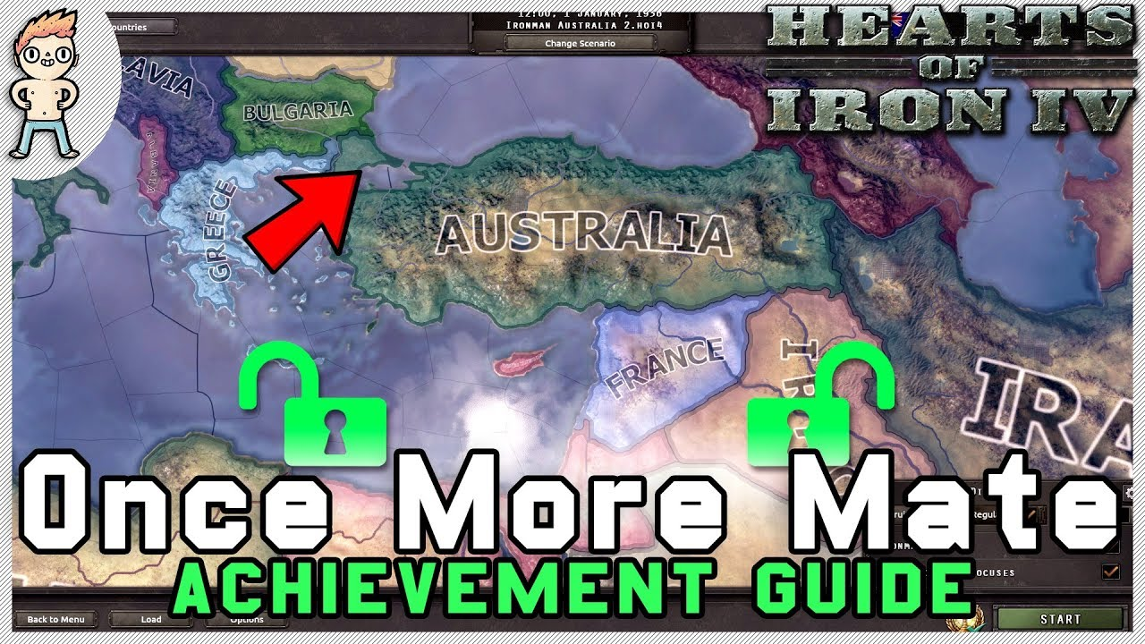 Hearts Of Iron 4 - Once More Mate Achievement Guide