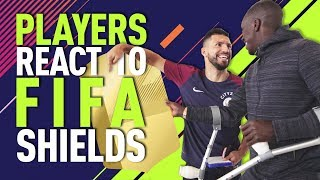 FUT SHIELD PLAYER REACTIONS | FIFA 18 | Walker calls out Sterling & Sane!