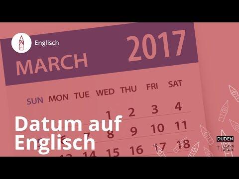 Datum Auf Englisch: So Geht's! – Englisch | Duden Learnattack