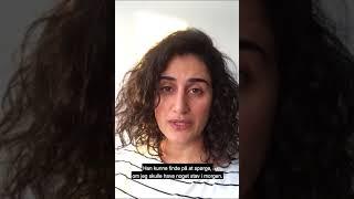 #MeToo fortælling genfortalt af Özlem Saglanmak