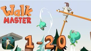 Walk Master - Trail 1-20 - iOS / Android - Walkthrough Gameplay
