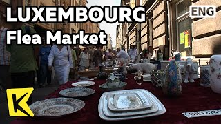【K】Luxembourg Travel[룩셈부르크 여행]기욤광장,다르메스광장 벼룩시장/Place Guillaume/Flea Market/Fruit/Place d'Armes