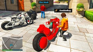 Stealing BILLIONAIRE Bikes In GTA 5 RP!