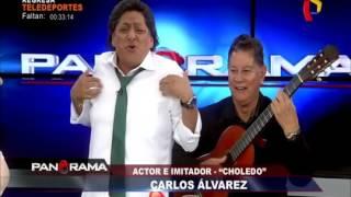 'Alejandro Choledo' Cantando 'CHORO SOY' autor y compositor Carlos Alvarez y Jorge Barata