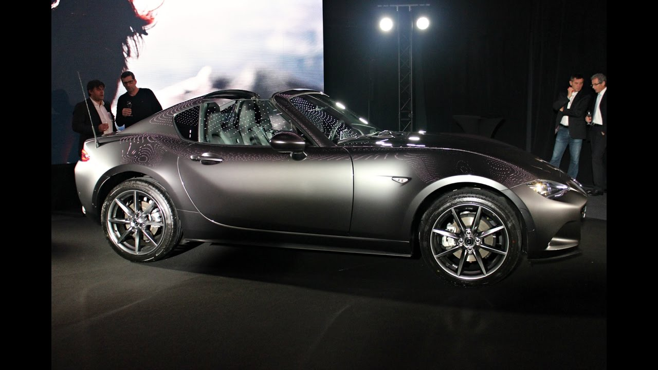 Présentation Mazda Mx 5 Rf 2017 Le Coupé Targa