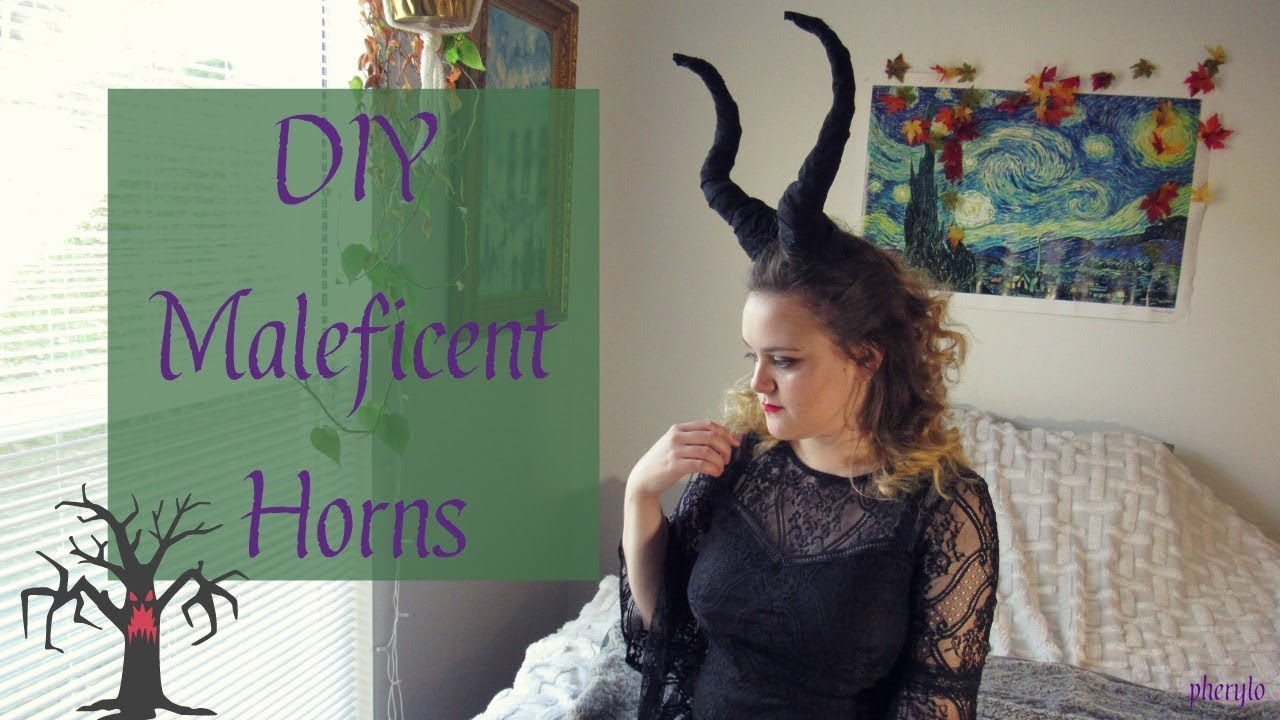 Diy Maleficent Horns