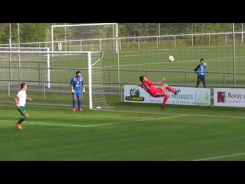 Defender scores stunning overhead kick … own goal – video