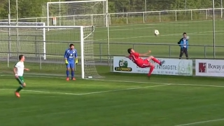 Defender scores stunning overhead kick … own goal – video