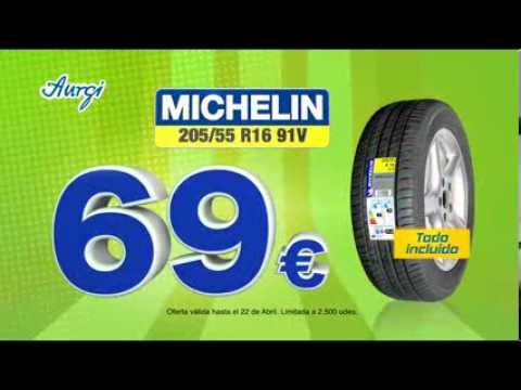 spot tv aurgi oferta neum tico michelin 205 55 r16 91v especial semana santa 2014 youtube. Black Bedroom Furniture Sets. Home Design Ideas
