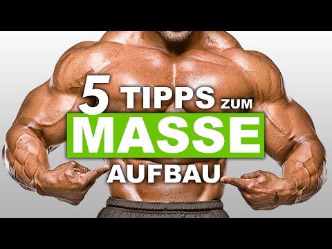 5 Tipps zum Masse aufbauen