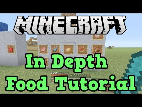 Minecraft Xbox 360 + PS3: FOOD / Hunger Tutorial (Best Food)