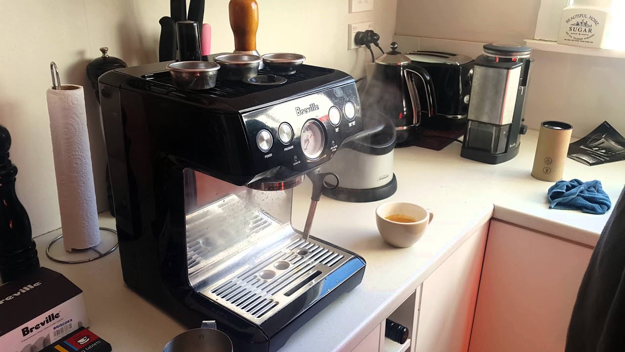 breville bes840 espresso machine working