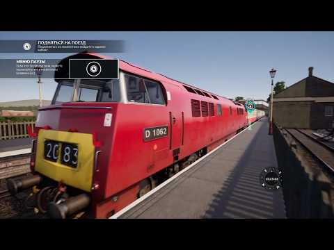 Train Sim World 2020: Знакомство с тепловозом Class 52  